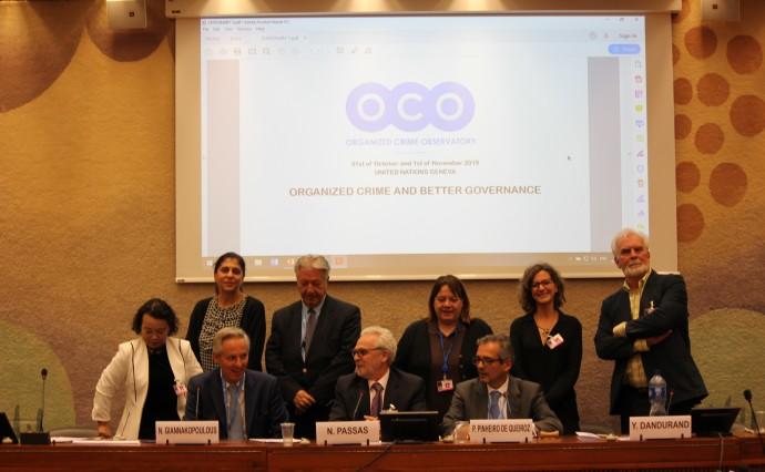 Rétrospective au sujet de la conférence de l'OCO - Organized Crime and Better Governance